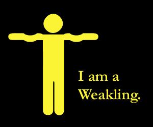 weakling