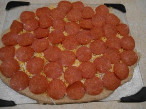 4 pepperoni