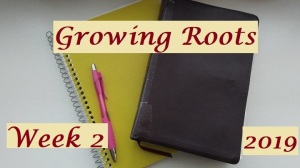 growing roots wk 2